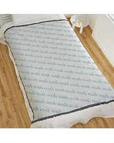 Playful Name Personalized 56X60 Woven Throw Blanket