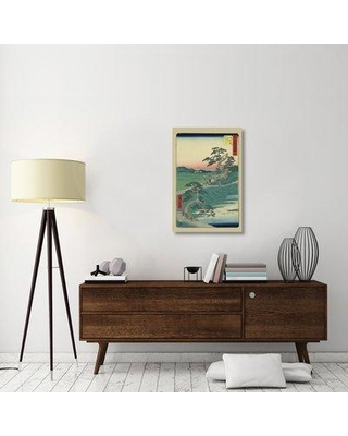 "East Urban Home 'Chiryu 1855' Graphic Art Print on Canvas ESUH2419 Size: 36"" H x 24"" W x 1.5"" D"
