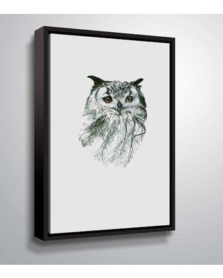"""ArtWall 'Eye of the Forest II' Graphic Art Print on Canvas 5nat008a Size: 48"""" H x 32"""" W x 2"""" D Format: Framed Canvas"""