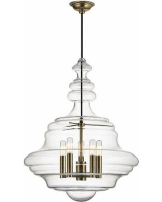 Hudson Valley Lighting Washington 20 Inch Large Pendant - 4020-AGB