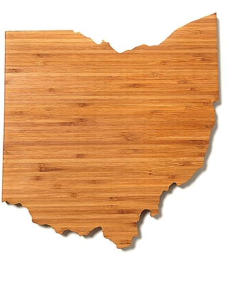 Ohio - State Cheese Boards