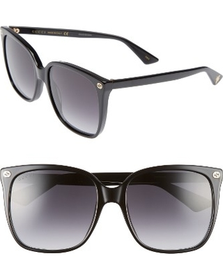 8a4d3ecdcd9 Don t Miss This Deal on Women s Gucci 57Mm Square Sunglasses - Black ...