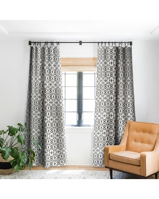 Holli Zollinger Geo Mudcloth Blackout Curtain Panel (96 Inches)