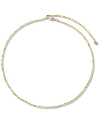 """Jared The Galleria Of Jewelry Box Chain Necklace 14K Yellow Gold 20"""""""