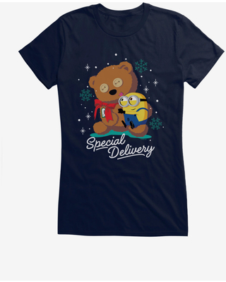 Minions Special Delivery Girls T-Shirt
