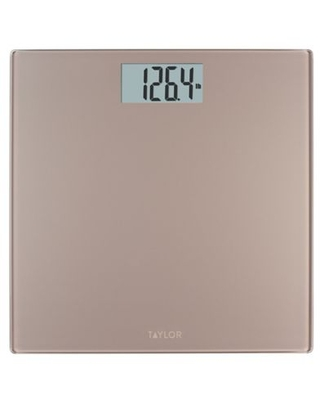 Taylor Digital Bath Scale in Satin Nickel Finish