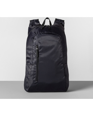 """Packable 19"""" Backpack Gray - Made By Design"""
