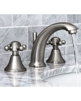 Huge Deal On Warby CrossHandle Widespread Bathroom Faucet Polished - Nickel finish bathroom faucets