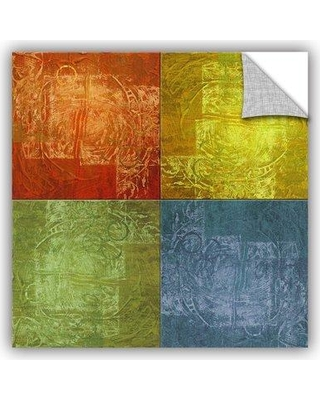 """ArtWall 4 Lights' by Greg Simanson Graphic Art Removable Wall Decal JJM7996 Size: 24"""" H x 24"""" W x 0.1"""" D"""