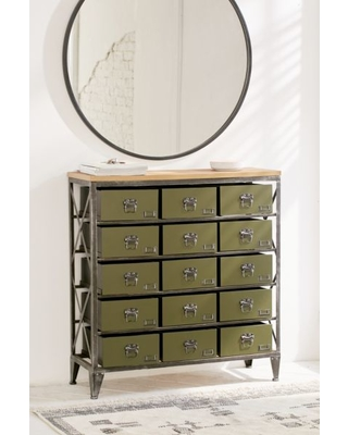 Exceptionnel Industrial Storage Dresser   Dark Green One Size At Urban Outfitters