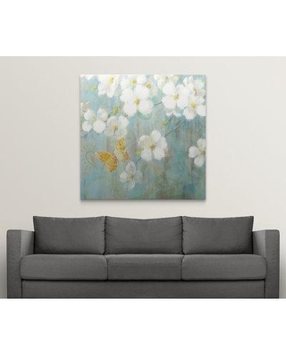 """Great Big Canvas 'Spring Dream V' Danhui Nai Painting Print 2433736_1 Size: 48"""" H x 48"""" W x 1.5"""" D Format: Canvas"""