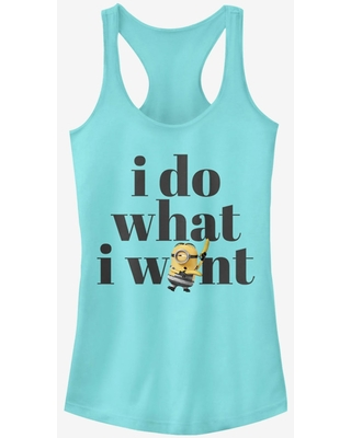 Minion Do What I Want Girls Tank Top