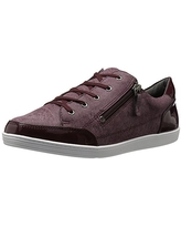 Soft Style by Hush Puppies Women's Fairfax Flat, Bordeaux Faux Tweed, 9 W US
