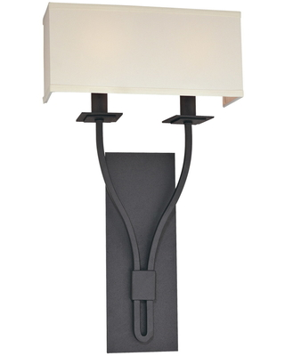 Troy Lighting Palladium Wall Sconce in Federal Bronze