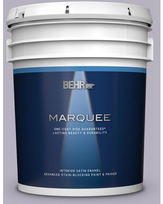 BEHR MARQUEE 5 gal. #N560-2 Coveted Gem Satin Enamel Interior Paint and Primer in One