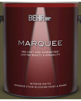 BEHR MARQUEE 1 gal. #750D-7 Hampton Matte Interior Paint and Primer in One