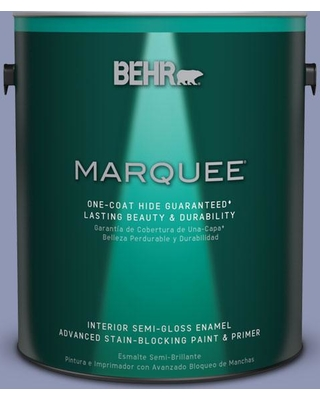 BEHR MARQUEE 1 gal. #S540-4 Vintage Ribbon One-Coat Hide Semi-Gloss Enamel Interior Paint and Primer in One
