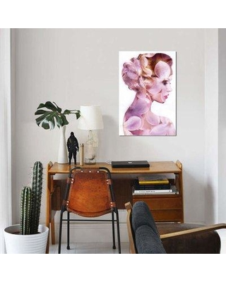 """East Urban Home 'Bloom' Graphic Art Print on Canvas EBHT2204 Size: 40"""" H x 26"""" W x 0.75"""" D"""