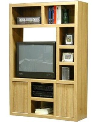 """Red Barrel Studio Ilsa Entertainment Center for TVs up to 32"""" RDBE3309 Color: Honey"""
