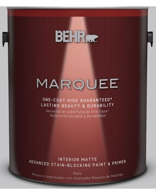 BEHR MARQUEE 1 gal. #T15-6 Dreamscape Gray Matte Interior Paint and Primer in One