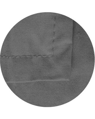 East Urban Home Nadeau Wool Gray Area Rug W002475399 Rug Size: Round 5'