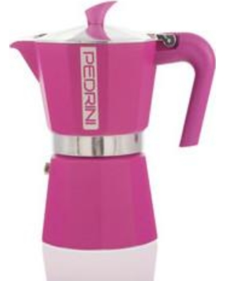 Grosche Pedrini Espresso Maker PED3CUPBLUE / PED3CUPGREEN / PED3CUPPINK Color: Pink Size: 6 Cup