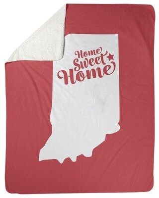 Great Prices For East Urban Home Chicago Illinois Fleece Blanket Fleece Microfiber In Red Size 60 X 80 Wayfair F7b9178a9ad94b59bdedea2c83e3498a