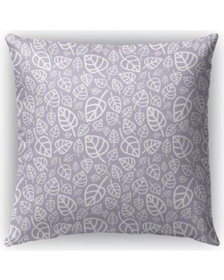 """Ebern Designs Dillman Indoor/Outdoor Throw Pillow EBRD1159 Size: 18"""" x 18"""" Color: Purple Product Type: Throw Pillow"""