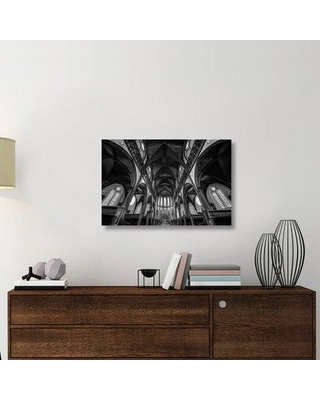 "East Urban Home 'Cathedral' Photographic Print On Wrapped Canvas ERNH1490 Size: 12"" H x 18"" W x 1.5"" D"