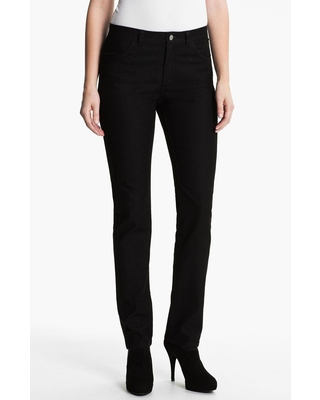 Lafayette 148 New York Curvy Fit Jeans in White at Nordstrom