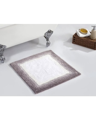 Better Trends Torrent Collection Tufted Bath Mat Rug 100% Cotton