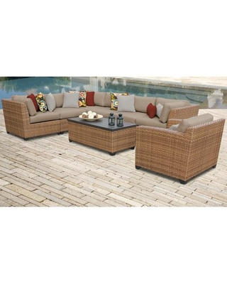 Waterbury Sectional Seating Group with Cushions Sol 72 Outdoor™