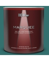 Discover Deals On Behr Marquee 1 Qt 500d 4 Jamaica Bay Matte Interior Paint Primer