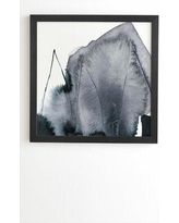 """Society6 'Abstract Form' Print 67998-frwa Format: Black Framed Size: 16.5"""" H x 14"""" W x 2"""" D"""