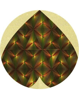 East Urban Home Wool Yellow Area Rug W002512106 Rug Size: Round 3'