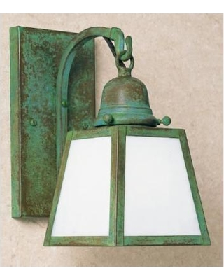 Arroyo Craftsman A-Line 9 Inch Wall Sconce - AB-1E-WO-VP