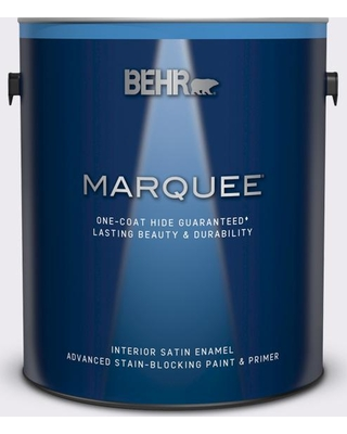 BEHR MARQUEE 1 gal. #630A-1 Amethyst Cream Satin Enamel Interior Paint and Primer in One