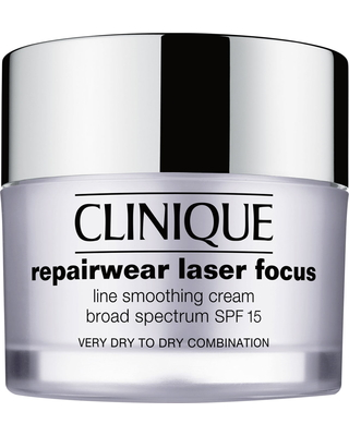 Clinique Repairwear Laser Focus Spf 15 Line Smoothing Cream For Dry To Dry Combination Skin