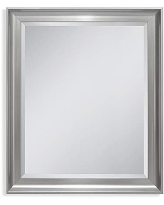 Head West Malibu Transitional Titanium, 27 inches by 33 inches Wall Mirror
