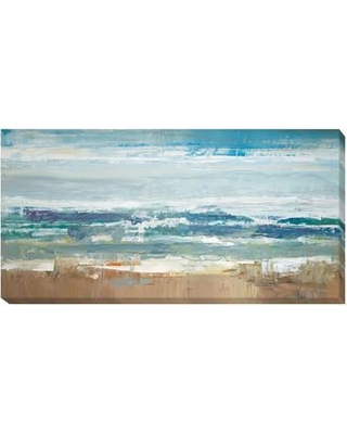 Artistic Home Gallery 'Pastel Waves' by Peter Colbert Painting Print on Wrapped Canvas 1836226CLG