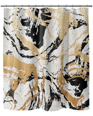 MARBLE Shower Curtain by Kavka Designs (71X74)