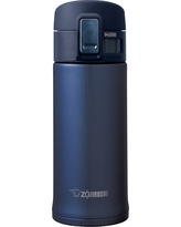 Zojirushi 12oz Stainless Steel Vacuum Insulated Mug with SlickSteel Interior - Smoky Blue
