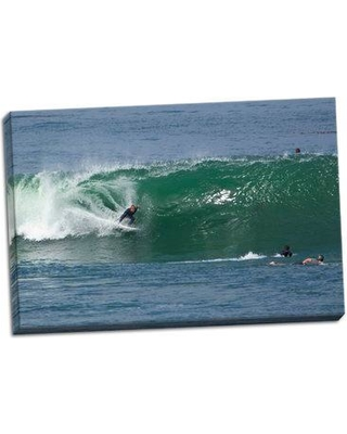 East Urban Home 'Surfing VIII' Photographic Print on Wrapped Canvas BI051892