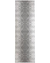 Check Out Deals On Manervia Gray Black Rug Wrought Studio Rug Size Rectangle 8 X 10