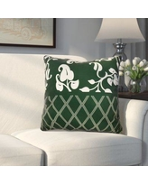 "Alcott Hill Decorative Holiday Throw Pillow ALCT6156 Size: 20"" H x 20"" W, Color: Dark Green"