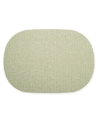 Kraftware™ Fishnet Oval Placemats in Green (Set of 12)