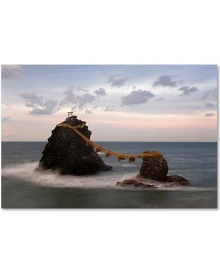 "Trademark Fine Art 'Cloudy Scene' Photographic Print on Wrapped Canvas ALI18685-C Size: 30"" H x 47"" W"