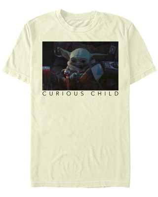 Star Wars The Mandalorian The Child Curious Photoreal T-Shirt