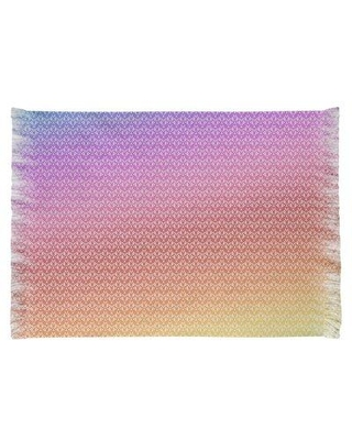 East Urban Home Mcguigan Alternate Art Deco Pink/Red/Green Area Rug W000876529 Non-Skid Pad Included: No