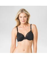 76fce61dc5b11 Simply Perfect by Warner s Women s Smooth Look Underwire Bra - Black 36B